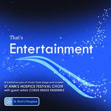 CD That's Entertainmet St Anns Hospice Choir