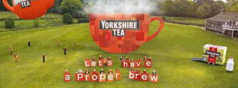 Marsden Silver Prize Band on Yorkshire Tea TV advert