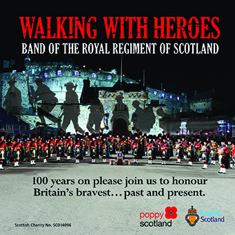 Walking With Heroes – The Band Of The Royal Regiment Of Scotland – MHP118