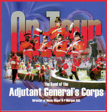 On Tour – The Band Of The Adjutant General's Corps – AMSCD103