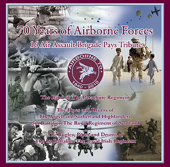 70 Years Of Airborne Forces – The Band Of The Parachute Regiment – MHP 1709