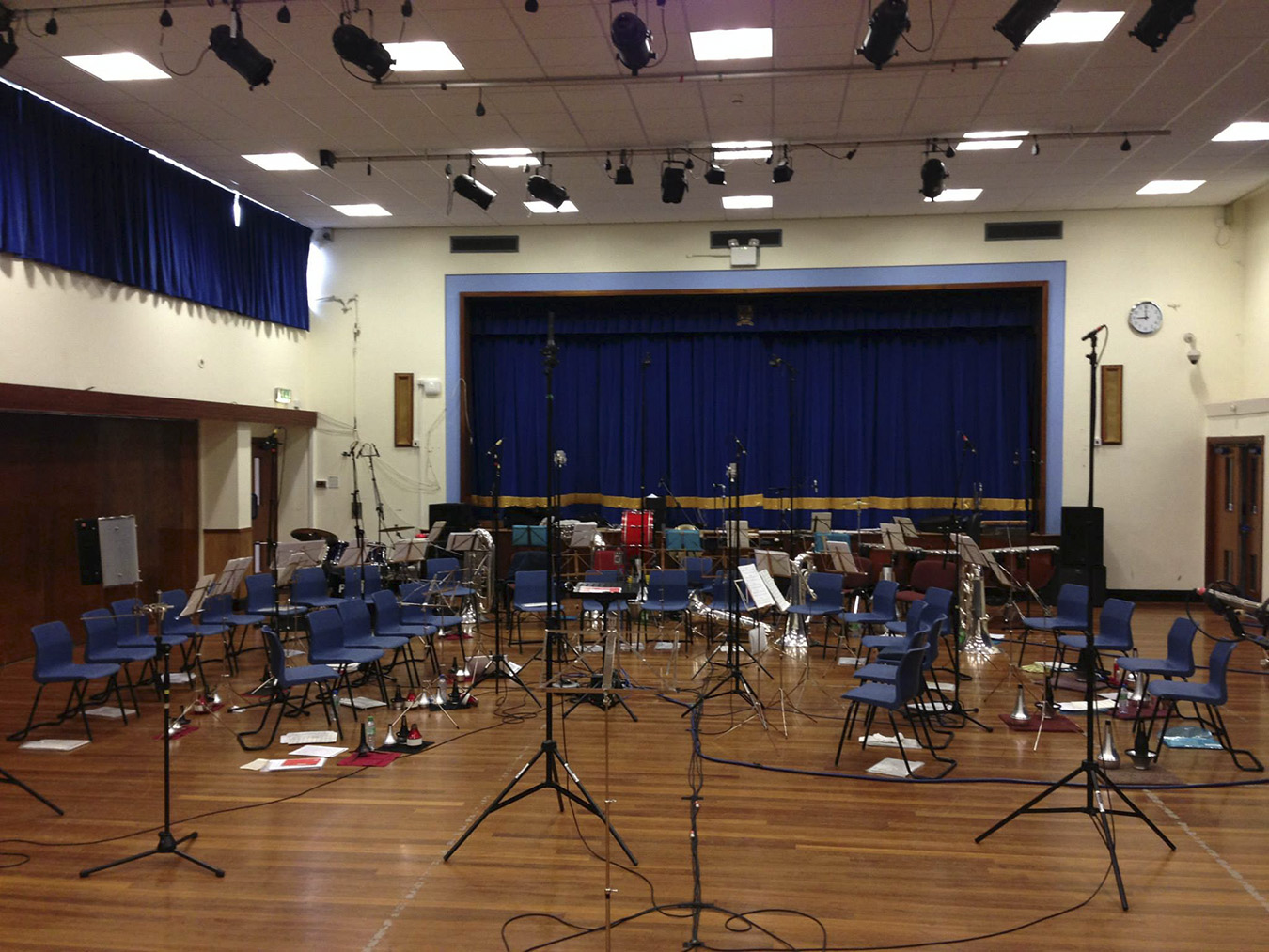 CD recording Rushen Silver Band in the Isle of Man