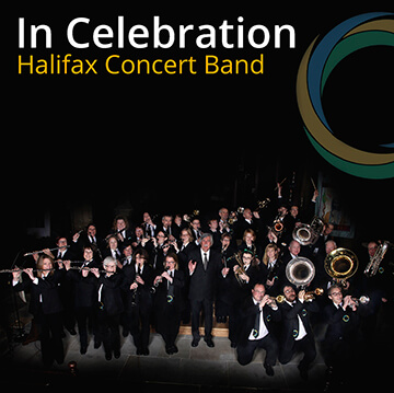 CD cover In Celebration Halifax Concert Band
