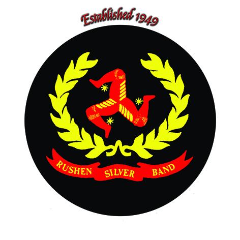 logo Rushen silver band