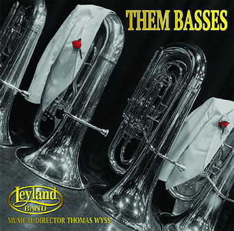 CD cover image 'Them Basses' Leyland Band