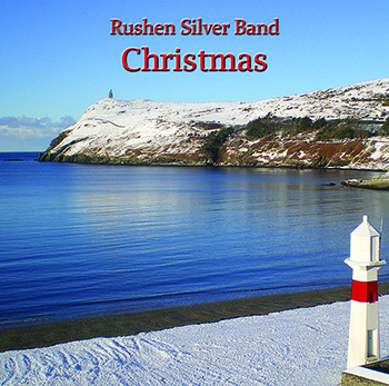 front cover of latest CD by Rushen Silver Band