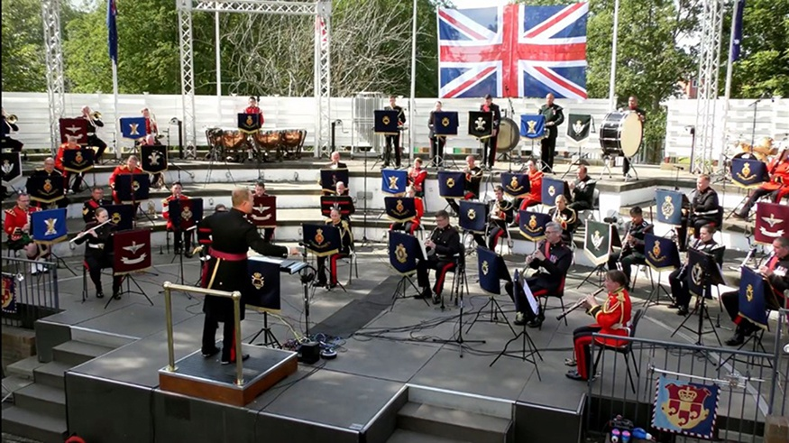 Final Farewell to Kneller Hall British Army Royal Corps of Army Music